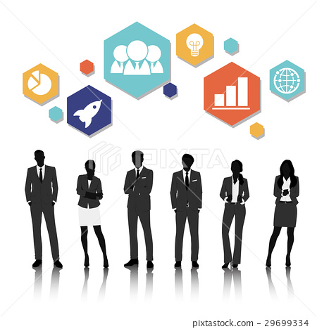 Vector UI Illustration Business People Concept 29699334