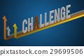 Challenge word design with graphic vector 29699506