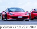 深紅色跑車 29702841
