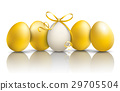 5 Golden Easter Eggs Mirror 29705504