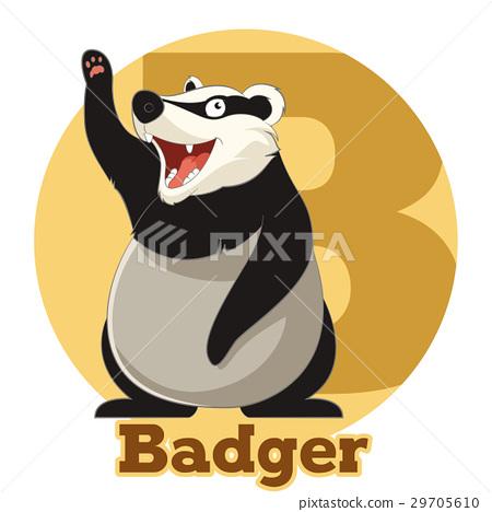 ABC Cartoon Badger 29705610