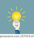 bulb idea hand 29705910