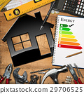 Home Improvement Concept - Energy Efficiency 29706525