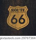 Route 66 - Vintage roadsign illustration 29707364