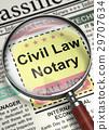 Civil Law Notary Job Vacancy. 3D. 29707634