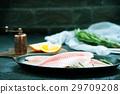 鱼片 清新 新鲜 29709208