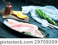 Fillet Fresh Fish 29709209
