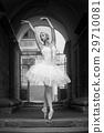 Female ballerina posing 29710081