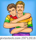 Homosexual couple oppressed prejudices 29712616