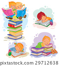 reading, book, icon 29712638