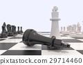 Two chess pieces on a chessboard 29714460