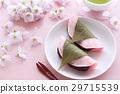 사쿠라 떡 벚꽃의 꽃 29715539