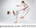 white, kids, karate 29715550