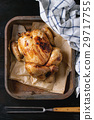 Grilled whole organic chicken 29717755