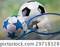 Sports accessories. paddles, sticks, s 29718328