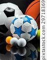 Sports accessories. paddles, sticks, balls 29718369