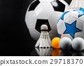 Sports accessories. paddles, sticks, balls  29718370