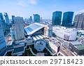 """""""오사카""""오사카 역 · 도시 풍경 29718423"""