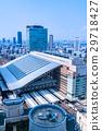 """""""大阪府""""大阪站·城市景观 29718427"""