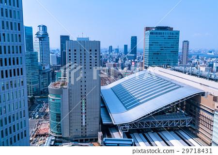 """""""大阪府""""大阪站·城市景观 29718431"""