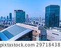 """""""오사카""""오사카 역 · 도시 풍경 29718438"""