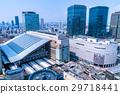 """""""大阪府""""大阪站·城市景观 29718441"""