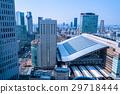 """""""大阪府""""大阪站·城市景观 29718444"""