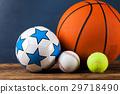 Sports accessories. paddles, sticks, balls 29718490