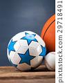 Sports accessories. paddles, sticks, balls 29718491
