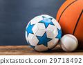 Sports accessories. paddles, sticks, balls  29718492