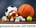 Sports accessories. paddles, sticks, balls  29718496