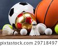 Sports accessories. paddles, sticks, balls  29718497