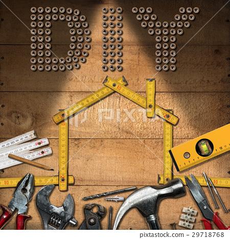 Diy Symbol - Work Tools and House 29718768