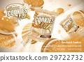 milk sandwich cookies 29722732