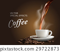 pour hot coffee 29722873