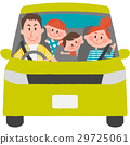Family to go out with a car 29725061