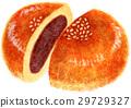 红豆饼 豆沙包 豆瓣酱 29729327