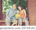 Happy parents with child 29730161
