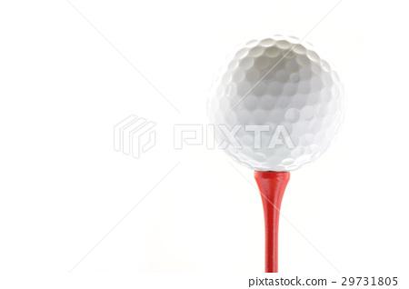 골프 공 흰색 흰색 배경 29731805