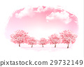 Beautiful spring nature background with trees 29732149