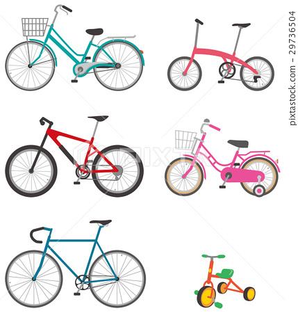 各種自行車圖像圖 29736504
