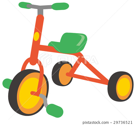 Illustration of a tricycle 29736521