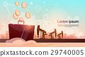 oil, vector, platform 29740005