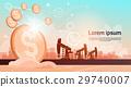 oil, vector, pumpjack 29740007