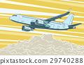 飛機 飛行 蒼蠅 29740288