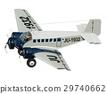 vector, cartoon, airplane 29740662
