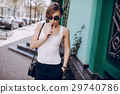 girl with the electronic cigarette 29740786