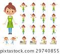 보육사 · 유치원 교사 · 원아 세트 29740855