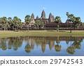 푸른 하늘의 앙코르 와트 세계 유산 캄보디아 29742543