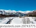 ม้าขาว,ฉากหิมะ,ภูเขาหิมะ 29743775